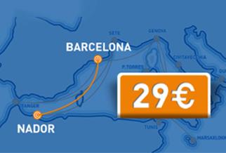 BLITZANGEBOT: Neue GNV Route nach Marokko ab 29€