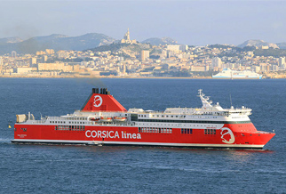 Sardinien, Sommer 2017: Neue Routen mit Corsica Linea