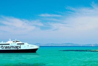 Trasmapi: Die beste Fähre zwischen Ibiza und Formentera